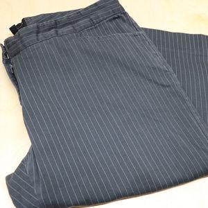 Pin Stripe Black/Grey The Limited Dress Pants